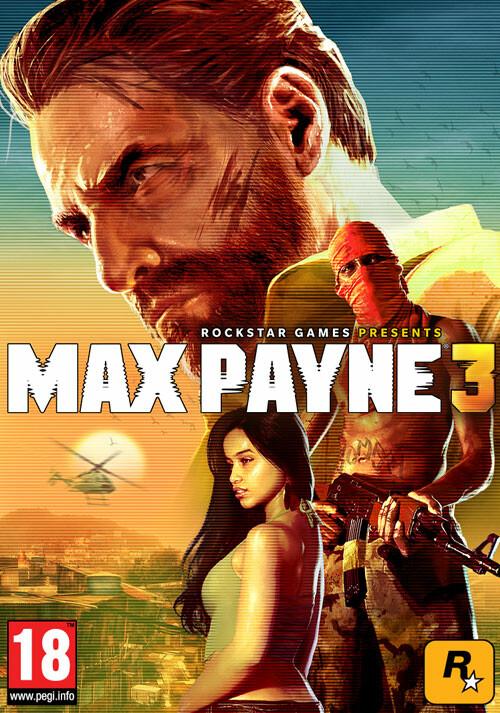 Max Payne 3 - Packshot