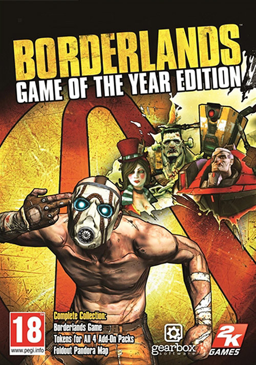 Borderlands: Game of the Year Edition - Packshot