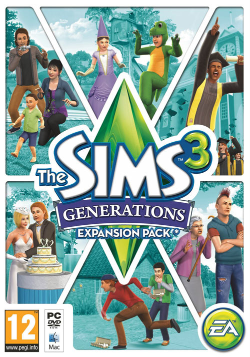 The Sims 3 Generations - Packshot